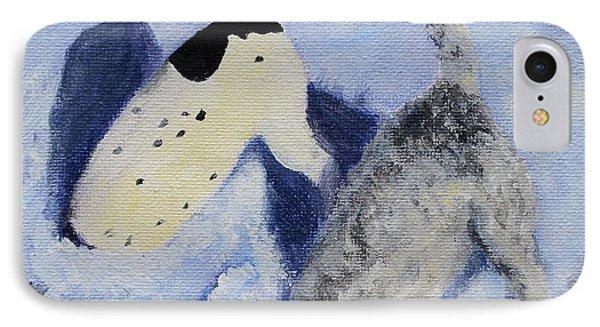 Snow Jacks Phone Case by Linda Freed