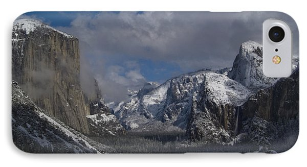 Snow Kissed Valley Phone Case by Bill Gallagher