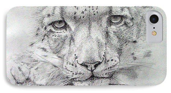 Snow Leopard Drawing By Alan Pickersgill