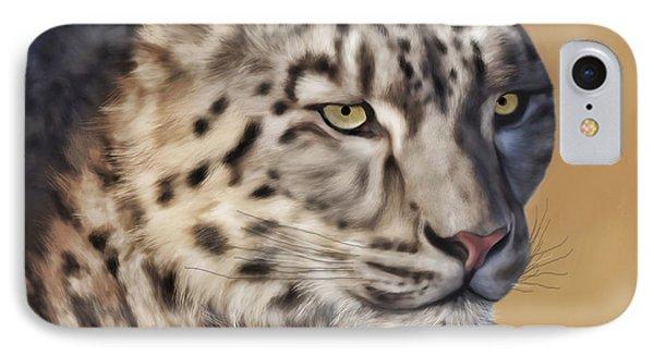 Snow Leopard IPhone Case