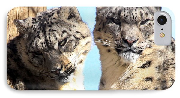 Snow Leopard's IPhone Case