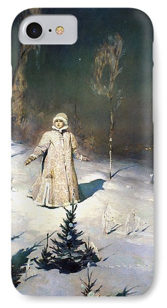 Snow Maiden 1899 By Vasnetsov  Phone Case by Movie Poster Prints