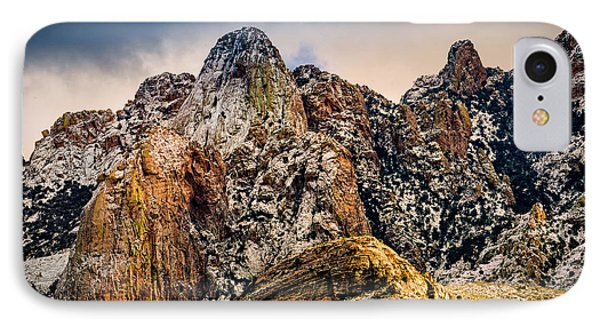 IPhone Case featuring the photograph Snow On Peaks 45 by Mark Myhaver