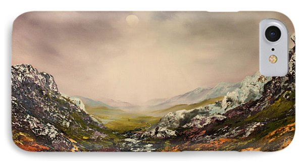 Snow On The Cairngorms IPhone Case by Jean Walker
