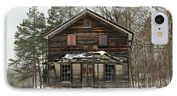 Snow On The General Store Phone Case by Benanne Stiens
