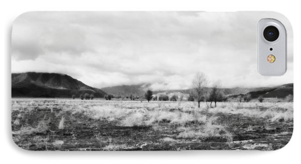 IPhone Case featuring the photograph Snow Over Hanning Flat by Hugh Smith
