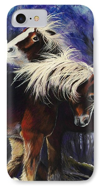 Snow Ponies IPhone Case