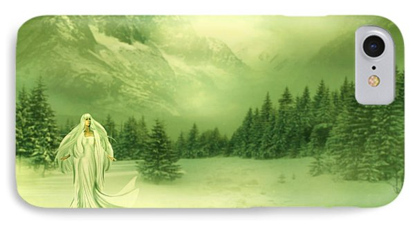 Snow Queen Phone Case by Ester  Rogers
