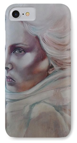 IPhone Case featuring the painting Snow Queen by Irena Mohr