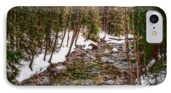 Snow River IPhone Case