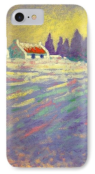 Snow Scape County Wicklow Phone Case by John  Nolan