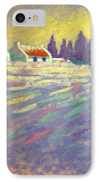 Snow Scape County Wicklow IPhone Case by John  Nolan