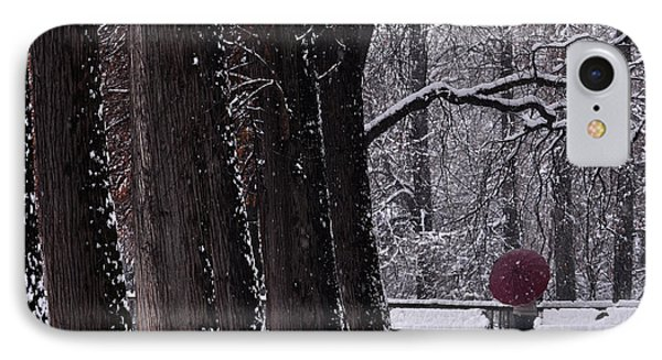 IPhone Case featuring the photograph Snow by Simona Ghidini
