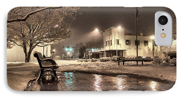 Snow Square - Color Phone Case by Jimmy McDonald