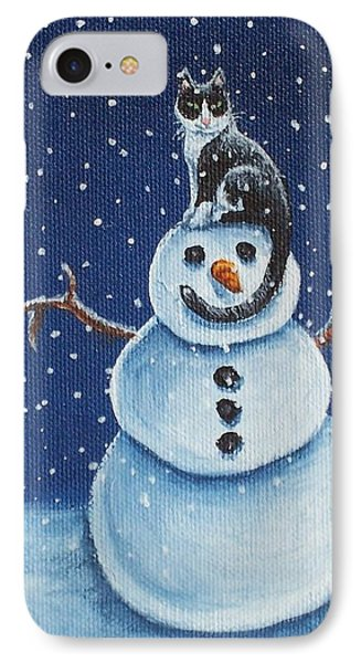 Snow Stormie Phone Case by Beth Clark-McDonal