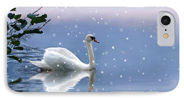 Snow Swan II IPhone 7 Case