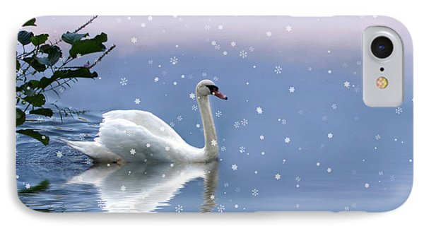 Snow Swan  IPhone Case
