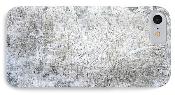 Snow Textures IPhone Case by Suzanne Powers