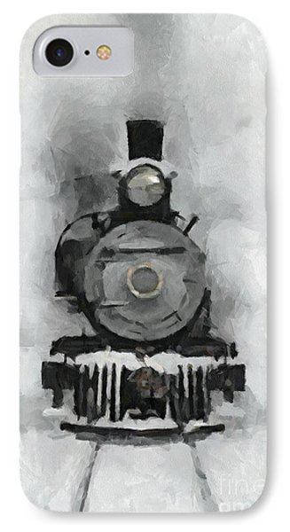Snow Train IPhone Case by Dragica  Micki Fortuna