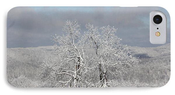 Snow Trees IPhone Case