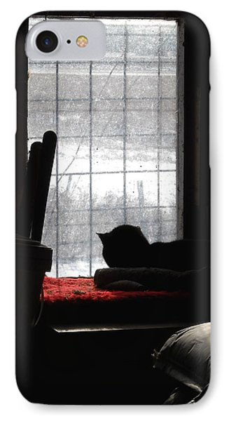 Snow Watching IPhone Case