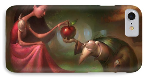 Snow White IPhone Case by Adam Ford