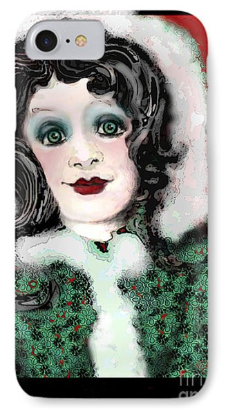 Snow White Winter IPhone Case by Carol Jacobs
