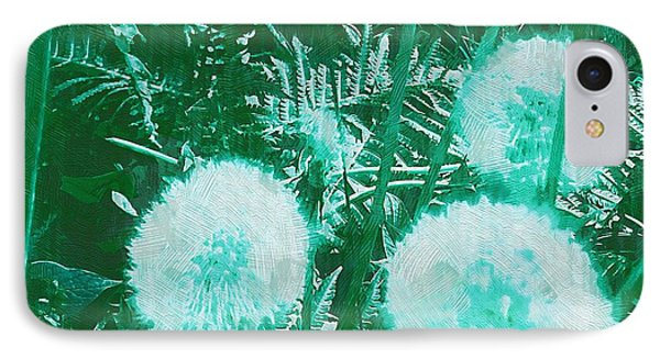 Snowballs In The Garden Phone Case by Pepita Selles