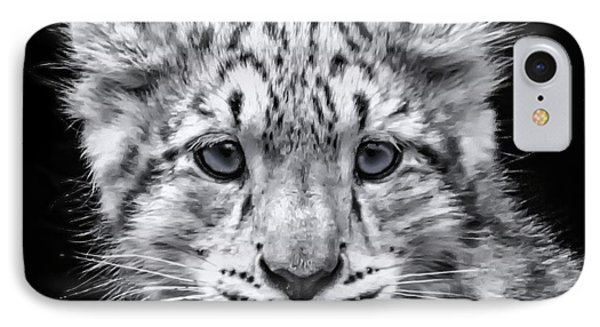 IPhone Case featuring the photograph Snowcub by Chris Boulton