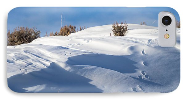 Snowdrifts IPhone Case