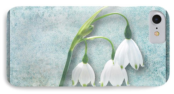 Snowdrop IPhone Case by Lynn Bolt