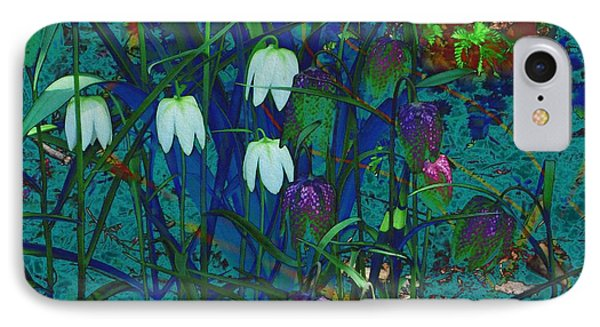 Snowdrops IPhone Case by Kathie Chicoine