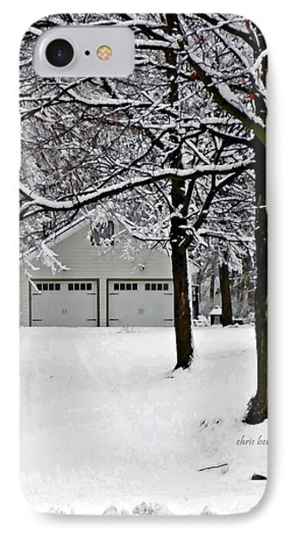 Snowed In IPhone Case by Chris Berry