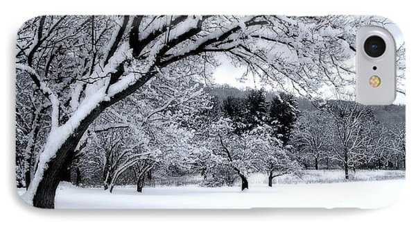 IPhone Case featuring the digital art Snowfall by Bruce Rolff