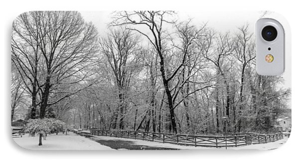 Snowfall Pano IPhone Case by Brian Wallace