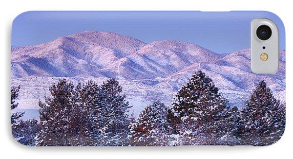 Snowfall Sunrise IPhone Case by Darren  White