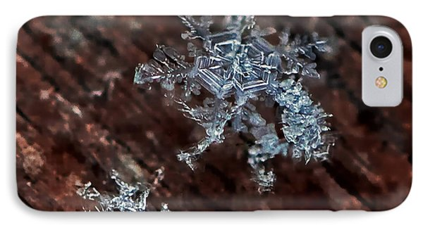 Snowflake IPhone Case by Suzanne Stout