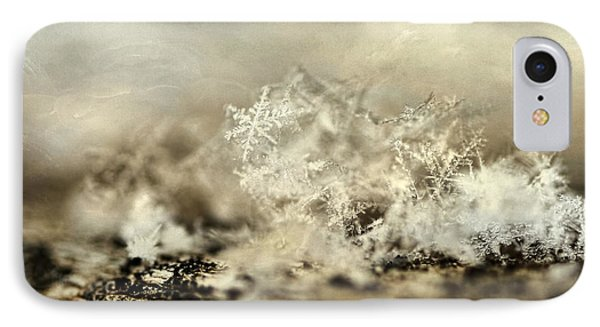 Snowflakes IPhone Case by Darren Fisher
