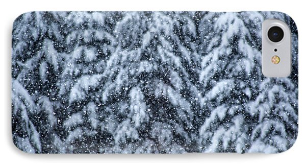 IPhone Case featuring the photograph Snowflakes by Dennis Bucklin