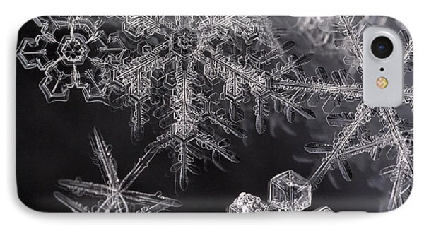 Snowflakes IPhone Case by Eunice Gibb