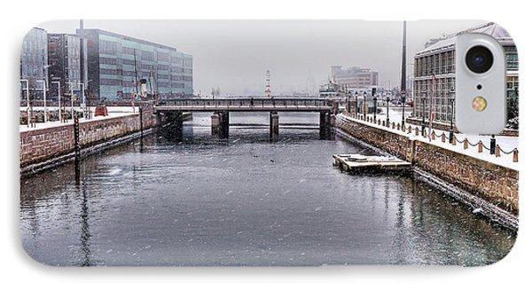 Winter Bridge Phone Case by EXparte SE