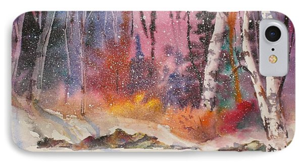 Snowing IPhone Case by Mohamed Hirji