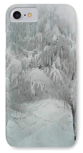 Snowland Phone Case by Kume Bryant