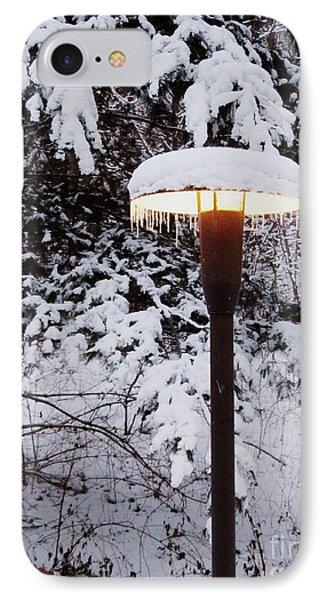 Snowlight Phone Case by Avis  Noelle