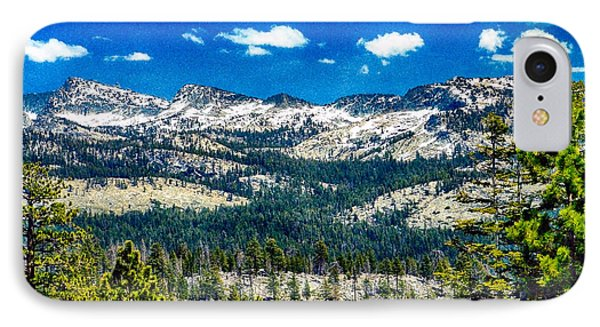 Snowline In Yosemite National Park IPhone Case