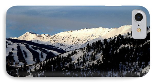 IPhone Case featuring the photograph Snowmass Mountain - Wild Cat Ranch by Allen Carroll