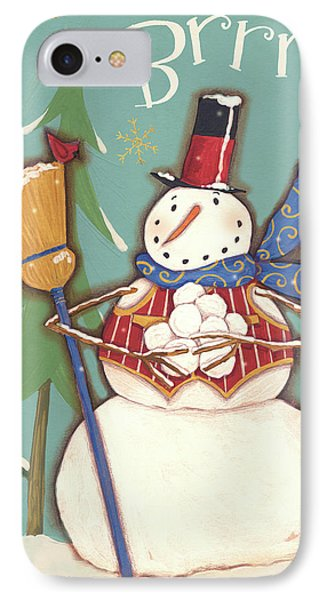 Snowmen Season II IPhone Case by Anne Tavoletti
