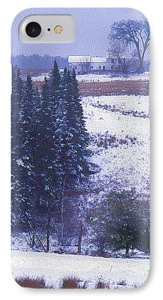 Snow's Arrival Phone Case by Joy Nichols