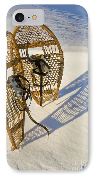 Snowshoes II IPhone Case by Jessie Parker