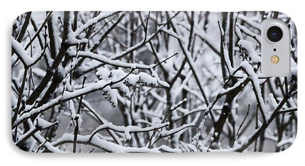 Snowy Branches IPhone Case by Birgit Tyrrell